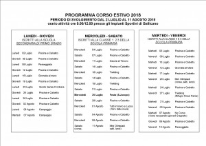 Corso estivo 2018 Programma dett definit2